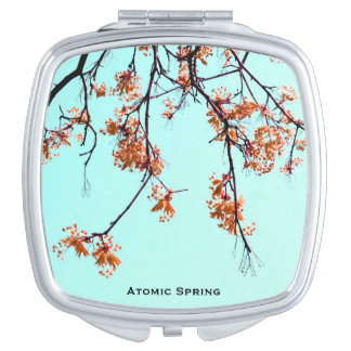 Atomic Spring by Uname_ Travel Mirror