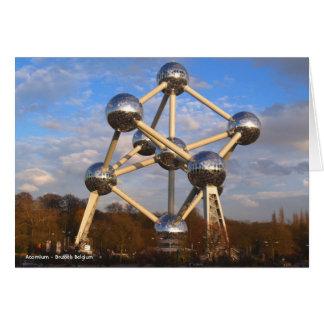 Atomium - Brussels Belgium Card