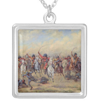 Attack of the 'Savage Division' Silver Plated Necklace