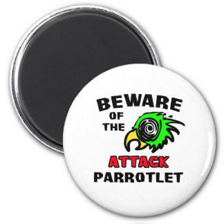 Attack Parrotlet Magnet
