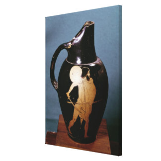 Attic red-figure oinochoe canvas print