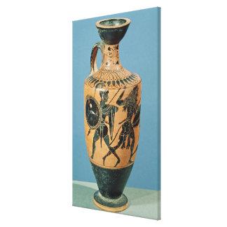 Attic Style Lekythos Canvas Print