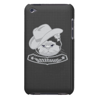 Attitude- cowboy cat barely there iPod covers