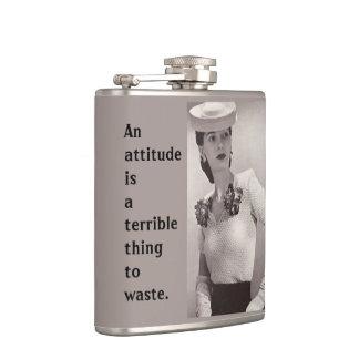Attitude Flask