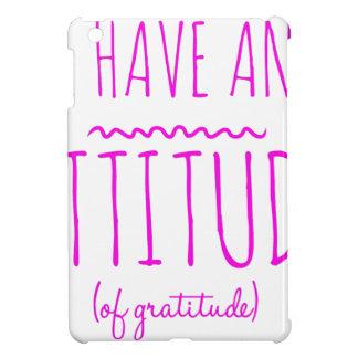 Attitude Gratitude Recovery Detox AA iPad Mini Covers