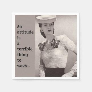Attitude Paper Napkin