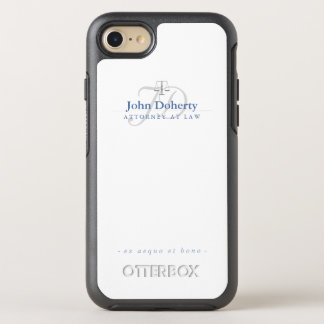 Attorney At Law   Elegant Scales of Justice OtterBox Symmetry iPhone 8/7 Case