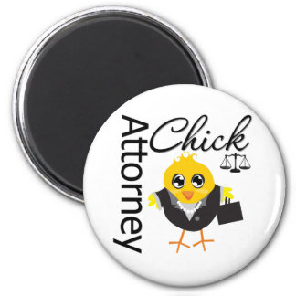 Attorney Chick v2 Fridge Magnet