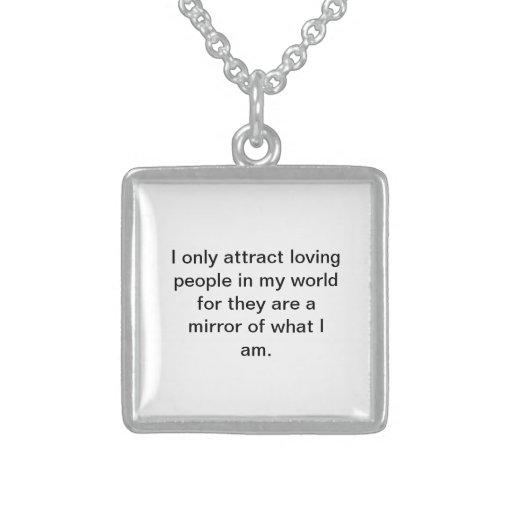Attract loving people custom jewelry