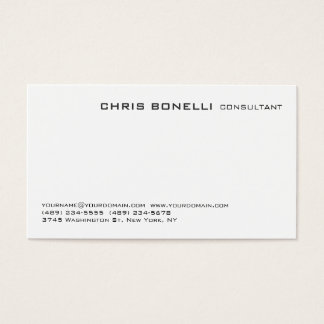 Attractive Black & White Trendy Business Card