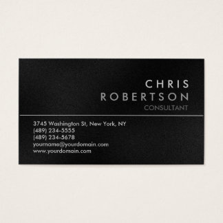Attractive Gray Modern Business Card