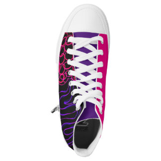 Attributed Electric P High High Tops