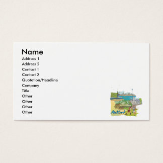 Auckland Business Card