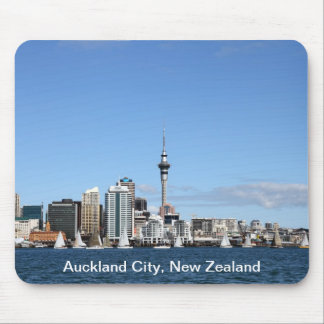 Auckland City, New Zealand by Day Mouse Pad