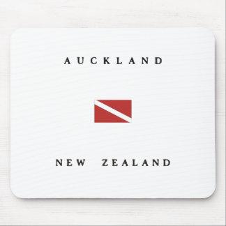 Auckland New Zealand Scuba Dive Flag Mouse Pad