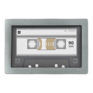 Audio Cassette Belt Buckle