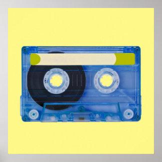 audio compact cassette poster
