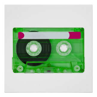 audio compact cassette poster