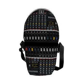 Audio Mixer pattern Commuter Bag