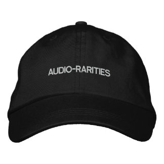 AUDIO-RARITIES_cap Embroidered Baseball Caps