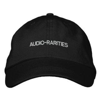 AUDIO-RARITIES_cap Embroidered Hat