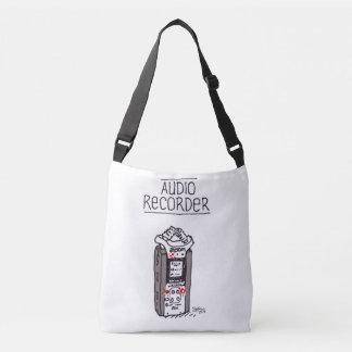 """Audio Recorder"" All-Over-Print Cross Body Bag"