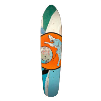 audiophiliacs.com CUSTOM LONGBOARDS Skate Board Deck