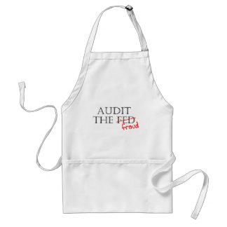 Audit the Fraud Adult Apron