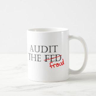 Audit the Fraud Coffee Mug