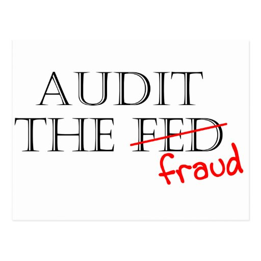 Audit the Fraud Post Card