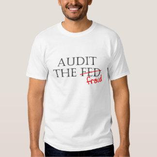 Audit the Fraud Tee Shirt