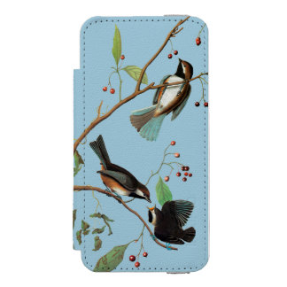 Audubon: Chickadee Incipio Watson™ iPhone 5 Wallet Case
