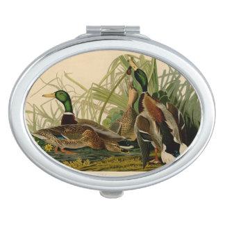 Audubon Mallard Duck Makeup Mirrors