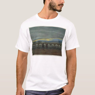 August Bridge in Dresden T-Shirt