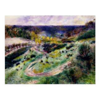 Auguste Renoir - Road at Wargemont Postcard