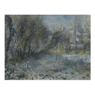 Auguste Renoir - Snow-covered Landscape Postcard
