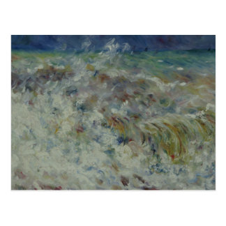 Auguste Renoir - The Wave Postcard