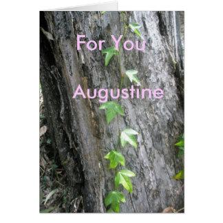 Augustine Card