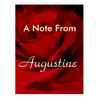 Augustine Postcard