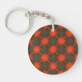 Aulay clan family Plaid Scottish kilt tartan Key Ring