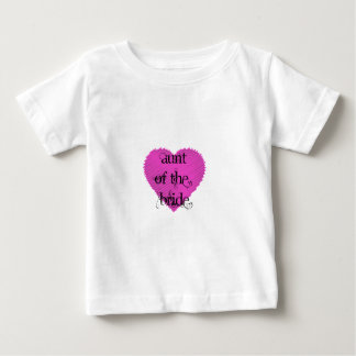 Aunt of the Bride Baby T-Shirt