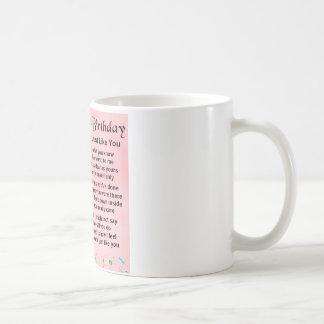 Auntie Poem 30th Birthday Coffee Mug