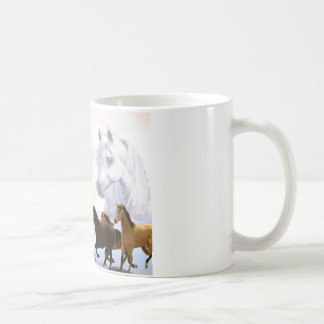Auntie Poem Horses Coffee Mug