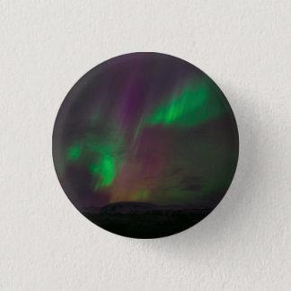 Aurora Borealis 3 Cm Round Badge