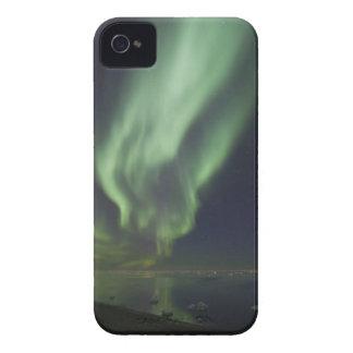 Aurora Borealis reflected in Arctic Ocean iPhone 4 Case