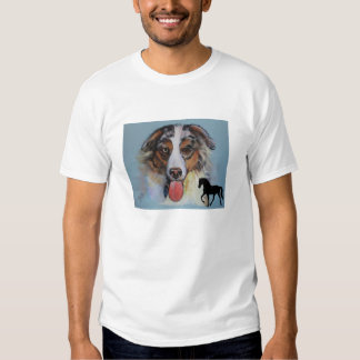 Aussie and Tennessee Walking Horse Tee Shirts