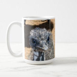 Aussie_Baby_Emu,_White_Coffee_Mug. Coffee Mug