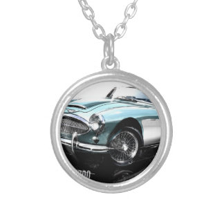 Austin Healey 3000 Silver Plated Necklace