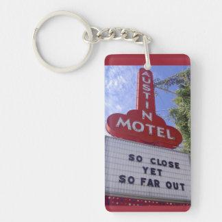 Austin Motel Key Ring