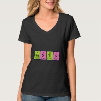 Austin periodic table name shirt